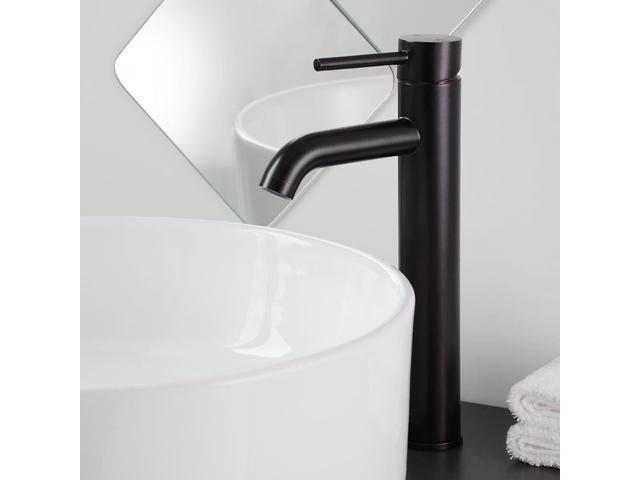 "New 12 Modern Contemporary Bathroom Faucet Vessel Sink: 12"" Contemporary Bathroom Faucet One Hole Vessel Sink"