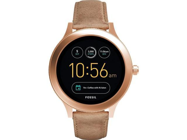 Fossil - Q Venture Gen 3 Smartwatch 42mm Stainless Steel - Rose gold