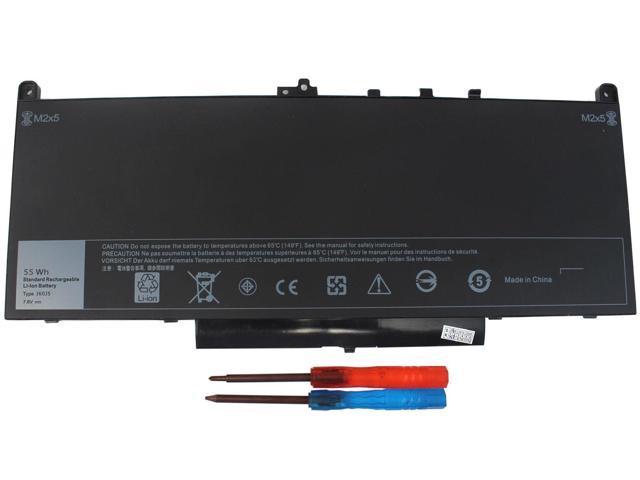 NEW Replace Dell Latitude E7270 E7470 Battery MC34Y 242WD GG4FM J60J5  451-BBSY - Newegg com