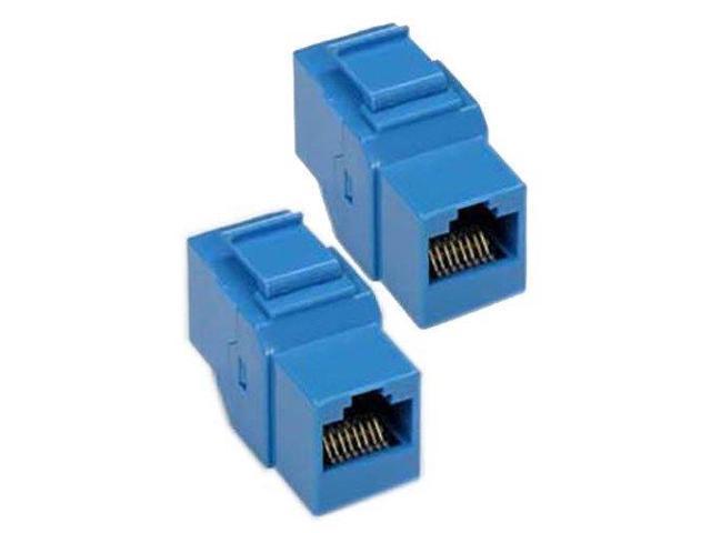 Tremendous 2X Cat5E Rj45 Ethernet Lan Coupler Snap In Keystone Jack F F Wall Wiring Digital Resources Attrlexorcompassionincorg