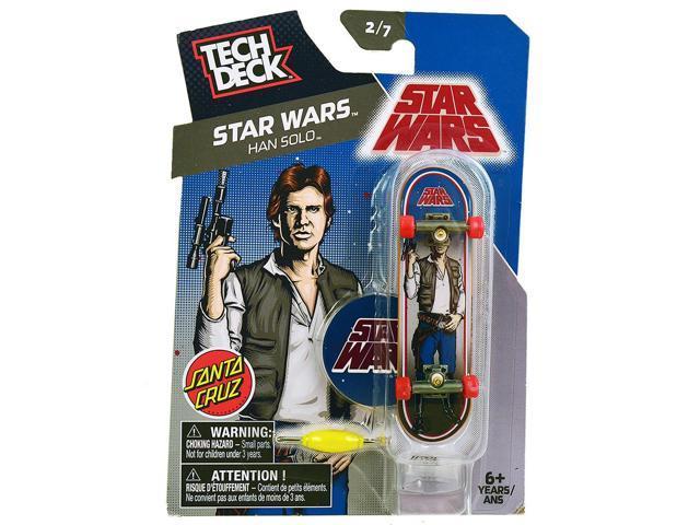 985759e8e72391 Tech Deck Star Wars Han Solo - Santa Cruz - Finger Board - Newegg ...
