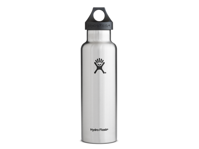 950c059b03 Hydro Flask 24 oz Vacuum Insulated Stainless Steel Water Bottle, Standard  Mouth w/Loop