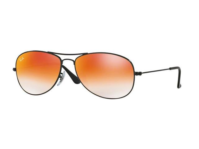 65c13fcc46f Ray-Ban RB3362 Cockpit Sunglasses for Mens - Size - 59 (Frame  Shiny Black    Lens  Brown)