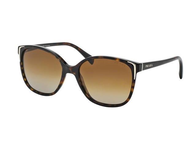 8a90f865154 PRADA Sunglasses PR 01OS 2AU6E1 Havana 55MM - Newegg.com