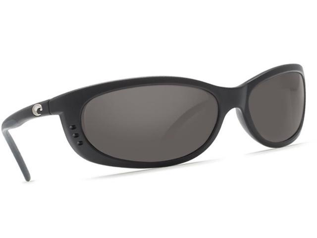 5af2bfcbc2025 Costa Del Mar Fathom Black Sunglasses Grey Lens 580P - Newegg ...