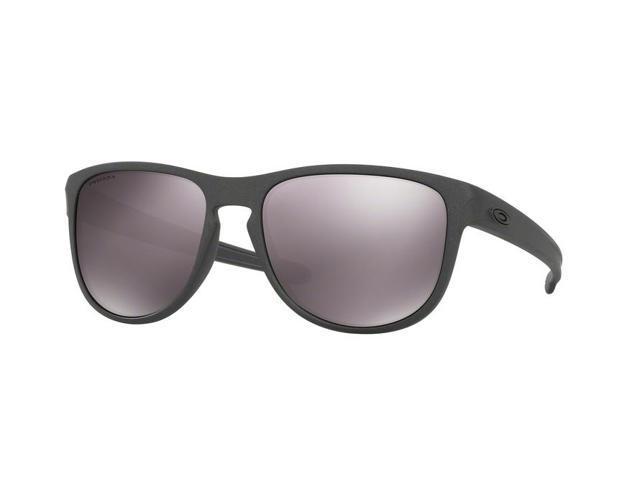 474eb4e9c95 Oakley Sun 0OO9342 Sliver R Rectangle Unisex Sunglasses - Size 57 (Steel    Prizm Daily