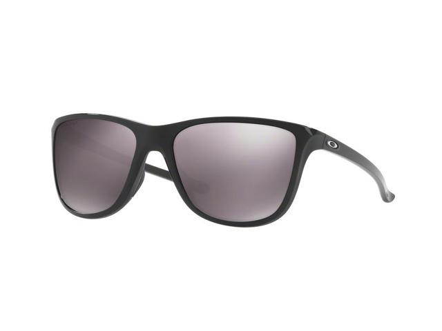 d7f35b58fc Oakley Reverie 0OO9362 Square Women s Sunglasses - Size 55 (Polished Black    Prizm Daily Polarized)