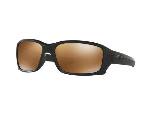 be16234a6f4 Oakley Sun 0OO9331 Straightlink Rectangle Unisex Sunglasses - Size 58 (Matte  Black   Prizm Tungsten Polarized)