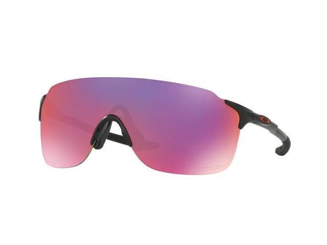 00fc8b1bd2ef Oakley Sun 0OO9386 Evzero Stride Rectangle Unisex Sunglasses - Size 38 ( Matte Black / Prizm Road)