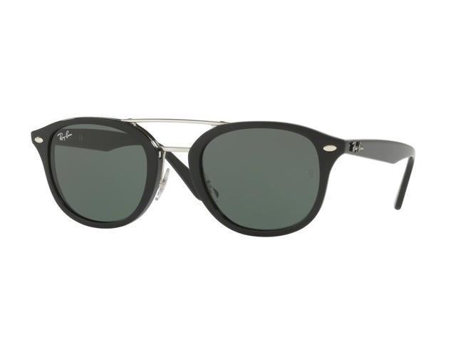 Ray Ban 0rb2183 Full Rim Square Unisex Sunglasses 53mm Green Classic Black Newegg Com