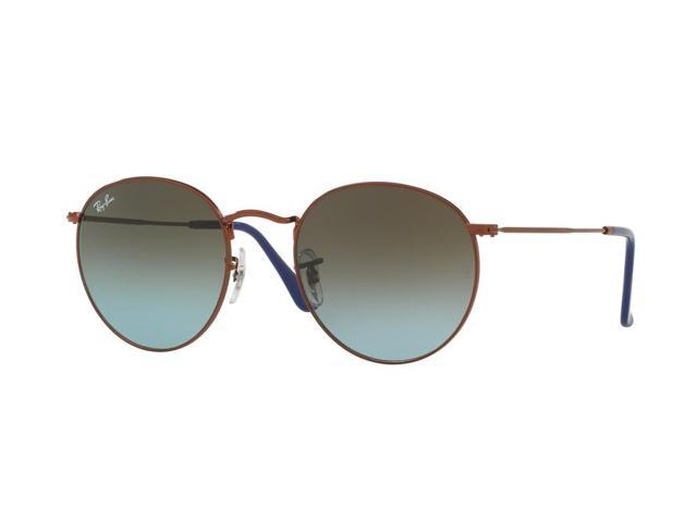 198954c82a02 Ray-Ban 0RB3447 Full Rim Phantos Unisex Sunglasses - Size 53 (Blue Gradient  Brown Shiny Dark Bronze)