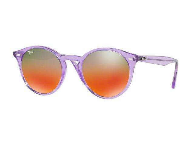 ccfb8e33b1f Ray-Ban 0RB2180 Full Rim Phantos Unisex Sunglasses - Size 51 (Brown Mirror  Red