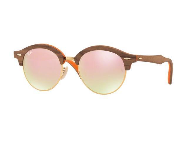 9e4f08c15bc Ray-Ban 0RB4246M Full Rim Phantos Unisex Sunglasses - Size 51 (Gradient  Brown Mirror
