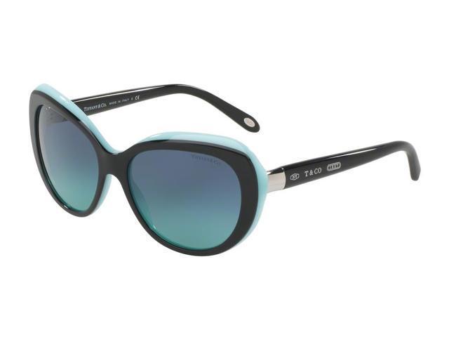 2df61abaec39 Tiffany 0TF4122 Full Rim Irregular Womens Sunglasses - Size 56 (Blue  Gradient   Black