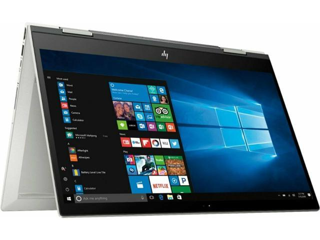 "HP ENVY x360 2-in-1 15.6"" Touch-Screen Laptop - Intel Core i7-8565U, 8GB Memory, 256GB SSD, HP pen, Bluetooth, Webcam - Natural Silver - 15t-cn100 5GM30AV"