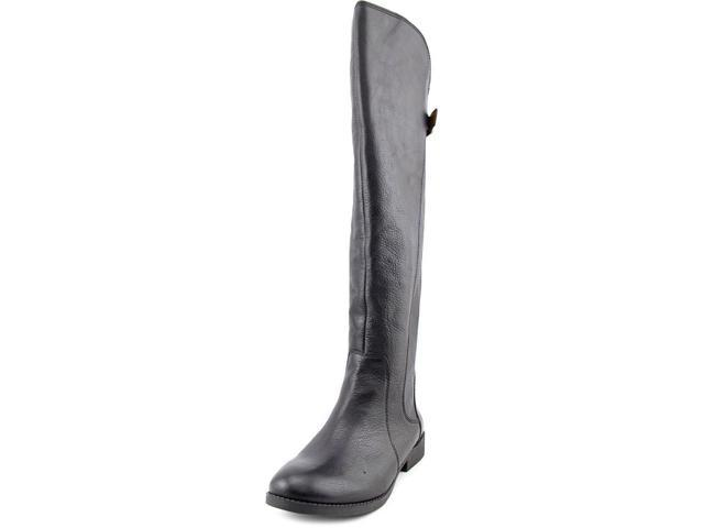 113d57a0c29 Lucky Brand Zepia Wide Calf Women US 6.5 Black Knee High Boot ...