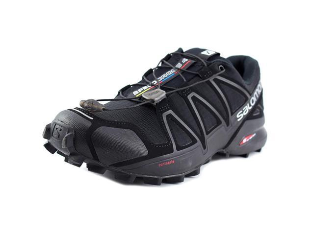4eaa85c1a842 Salomon 2018 Men s Speedcross 4 Trail Running Shoe - Black Black Black  Metallic -