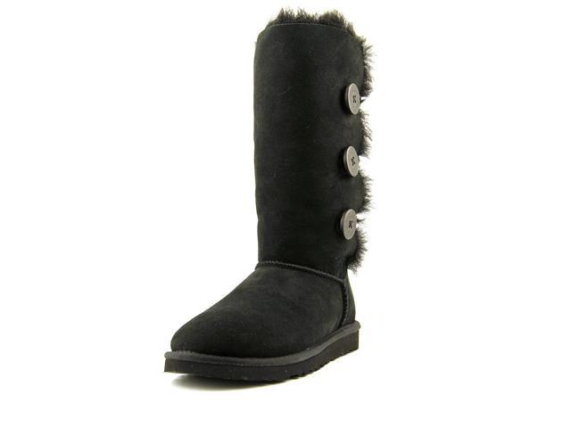 fe830275960 Ugg Australia Bailey Button Triplet Women US 5 Black Winter Boot EU 36 -  Newegg.com