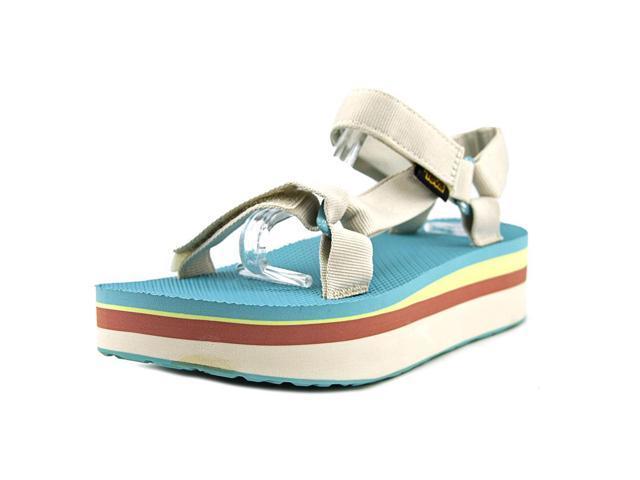 3cf33d858d43 Teva Flatform Universal Retro Women US 8 Gray Sport Sandal ...