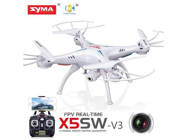 <b>Syma X5SW</b>-V3 Wifi FPV Explorers 2.4Ghz 4CH RC Quadcopter ...