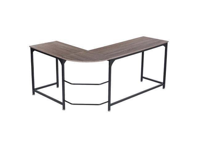 35f8c33ab7 Large Size L-shaped Corner Computer Desk PC Latop Study Table Workstation Home  Office