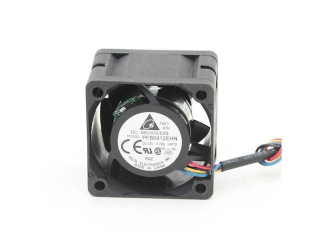 New original 4CM PFB0412EHN 4028 40mm DC12V 0 72A 4-pin pwm industrial  server inverter cooling fan - Newegg com