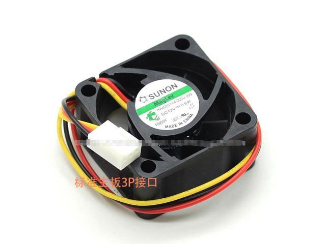 SUNON HA40201V4-0000-C99 DC12V 0.6W 4020 4CM 40MM 40X40X20MM 3pin Cooling Fan