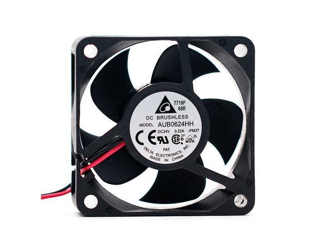 Delta DELTA AUB0624HH 60256cm 24V 0 22A 6CM Inverter Radiator Fan -  Newegg com