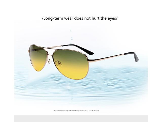 Polarized Sunglasses Aviator Military Style Classic Mirror Flat Lenses Street Fashion Metal Frame Shades for Man Fashion Sunglasses Class for Driving Skiing ...