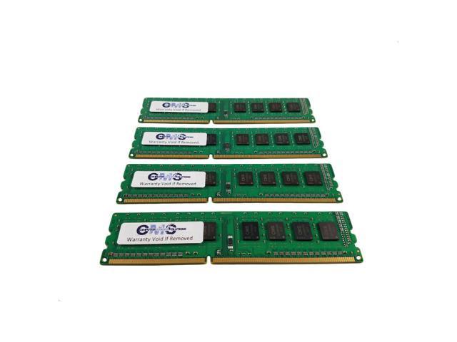 4x8GB DDR3 PC3-10600E ECC Unbuffered Memory RAM for Dell PowerEdge T110 32GB