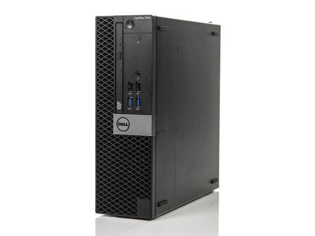 Dell Optiplex 7040 SFF i7-6700 3 40GHz 4GB 250GB Win 10 Pro 1 Yr Wty -  Newegg com