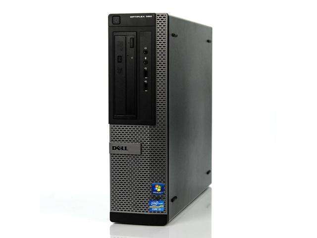 Refurbished: Dell Optiplex 390 DT i3-2100 3 10GHz 4GB 250GB Win 7 Pro 1 Yr  Wty - Newegg com