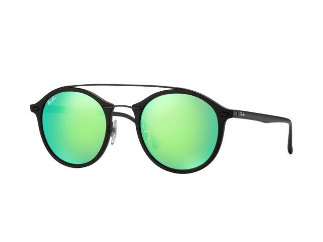 31671ffd5d Ray-Ban RB4266 Sunglasses with Black Frame and Green Mirror Lenses