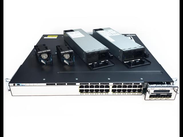 Refurbished: Cisco WS-C3750X-24T-L Catalyst 3750X 24 Port Managed Ethernet  Switch 10G Uplink Module Included - Newegg com