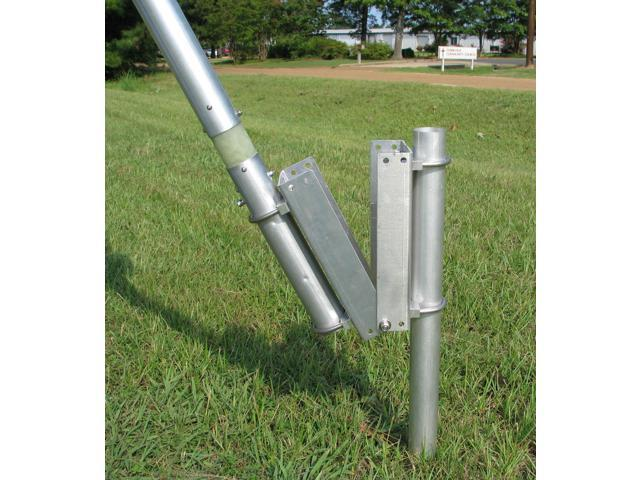 Handles 250W MFJ-2386 Compact HF//6M 3.5-54MHz Ground-Plane Vertical Antenna