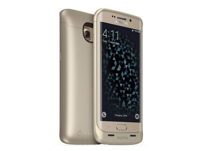new concept 9b250 75336 mophie Juice Pack 3257 - Gold + mophie Juice Pack Dock for Samsung S6/S6  Edge 3208 - Black - Newegg.com