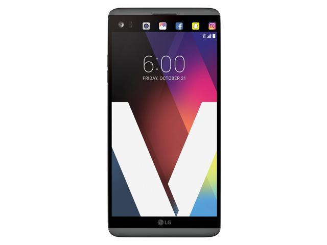 LG V20, 5.7-Inch, 4GB RAM, 64GB Storage, GSM, Dual Rear Camera (16 MP + 8 MP), Fingerprint Sensor, AT&T Unlocked Cell Phone, US Warranty, Titan (H910A)