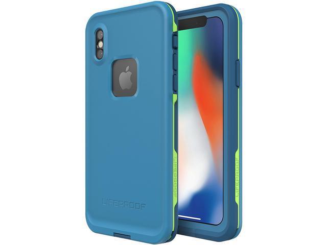 super popular 8b479 c756a LifeProof FRE Case For iPhone X - Banzai Blue - Newegg.com
