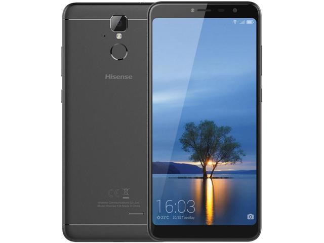 Hisense Infinity F24 16GB Unlocked GSM 4G LTE Android Phone w/ 13 MP Camera  & 2 5D Curved Glass Display - Black - Newegg com