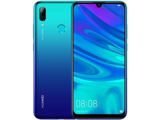 HUAWEI P smart 2019 POT-LX3 Unlocked GSM 4G LTE Dual Camera (13MP+2MP)  Phone - Aurora Blue - Newegg com