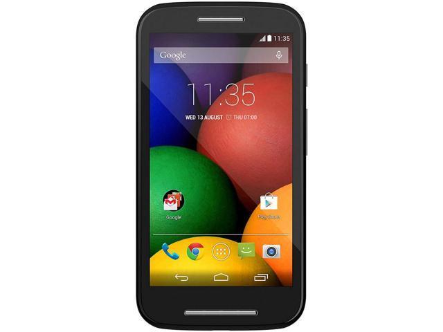 d8d9d6f5075 Motorola Moto E XT1021 4GB desbloqueado GSM doble núcleo teléfono Android  con Corning Gorilla Glass 3 - negro - Newegg.com