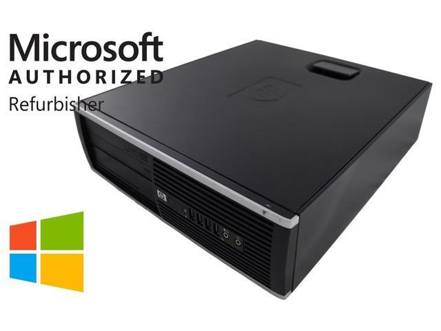 HP Compaq 8100 Elite SFF Black PC - Intel Core i5 650 1st Gen 3 2 8GB DIMM  DDR3 SATA 3 5