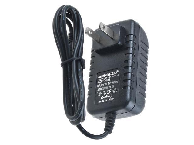DC Adapter For # SSA-12W-09 US 090100F PLUG-IN Power Supply Negative Tip 9V AC