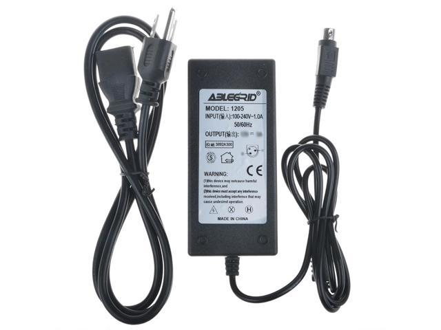 ABLEGRID AC DC Adapter For Skyworth SLC-1519A-3M SLC1519A 3M SLC-1519A-3S  15 6 LED HDTV HD TV DVD Player Combo Power Supply Cord Cable PS Charger