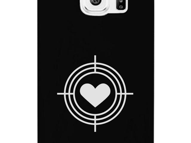 purchase cheap efe88 bd7c9 To Heart Target Unique Galaxy S6 Case White Matching Couples Cases -  Newegg.ca