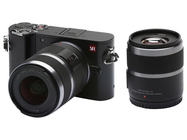 YI M1 4K 20 MP Mirrorless Digital Camera With Interchangeable Lens 12 40mm F3