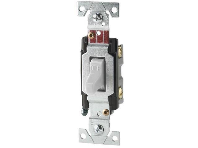 20a toggle light switch white cooper wiring 3 way switches. Black Bedroom Furniture Sets. Home Design Ideas