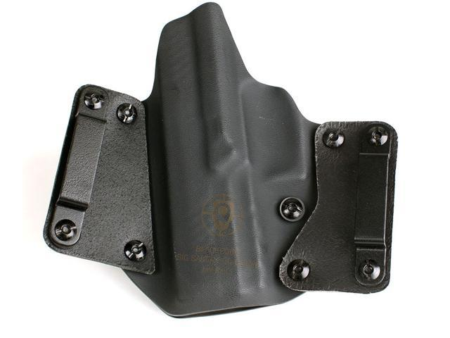 BlackPoint Leather WING OWB Holster SIG P320 Full Size RH Leather/Kydex  Hybrid - Newegg com