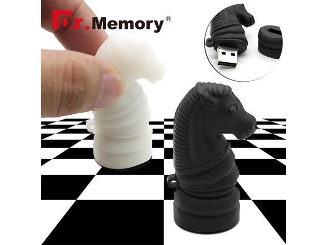dr memory usb flash drive horse pendrive international chess flash