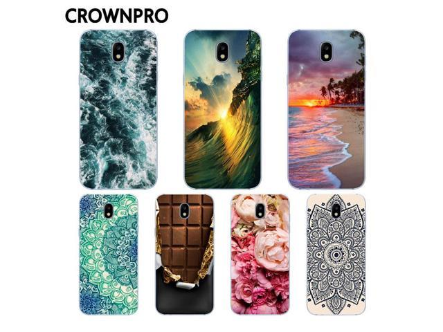 CROWNPRO Cases For Samsung J7 7 2017 Case Soft Silicone TPU Back Cover For Samsung Galaxy J7 2017 J730 J7Pro Pro Phone Cases